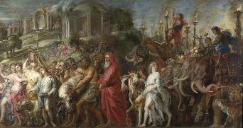 Peter Paul Rubens, Trionfo romano, 1630 ca., National Gallery, Londra